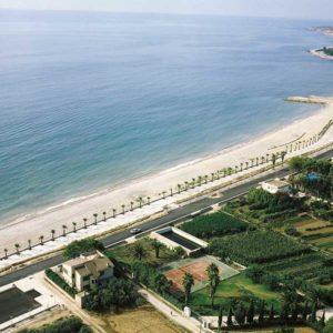 Vista aérea del paseo del Marjal