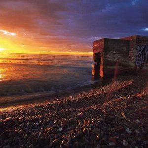 Playas con vestigios del pasado