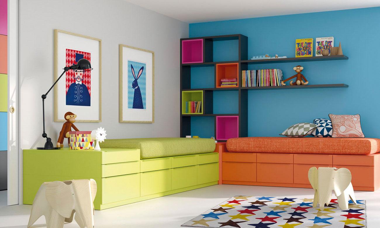 Ambientes juveniles carpinter a pla - Ambientes de dormitorios ...